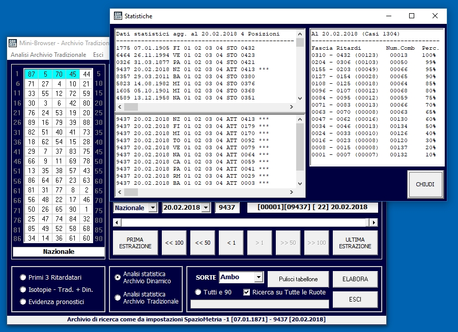 ultimo software lotto
